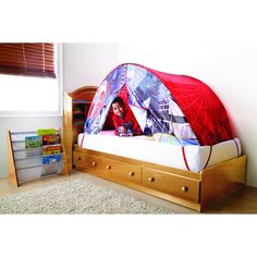 SPIDER-MAN® SPIDER-MAN Bed Tent  sc 1 st  Pinterest & Kids Bed Tents low as 14.30 plus free shipping otpions makes for ...