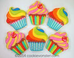Cupcake cookies // galletas de cupcakes