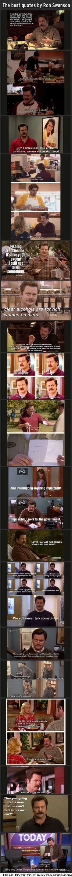I don't watch Parks & Rec...but this is funny!!