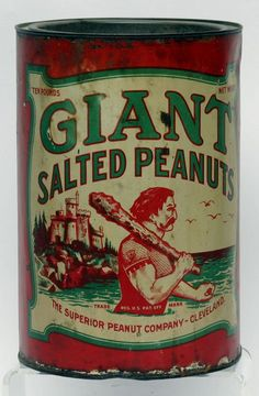 Giant Salted Peanuts Tin : Lot 81
