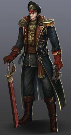 Warhammer 40k - Commissar