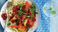 Vegetarian moroccan tagin image