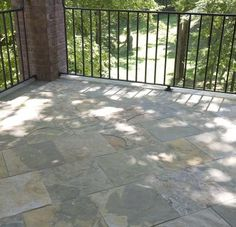 Laying patio tile, as opposed to plain old cement