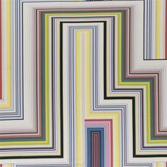 abstract malachite - multicolore fabric | Christian Lacroix