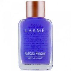 Lakme Nail Color Remover 27ml With Vitamin E Nail Polish Remover acetone-free…