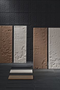 #Surface - carrelage collection Basrelief - grès cérame - Surface www.surface.fr/