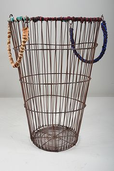 Yarn and Copper Basket