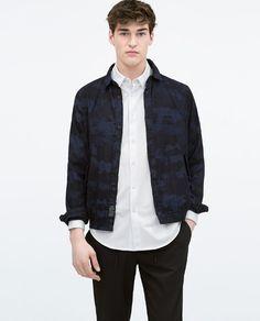 Piqué long sleeved shirt