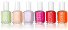 Essie's Spring 2012 colors - I'm going to have to get these colors - releasing Feb 2012