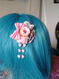 Check out this item in my Etsy shop https://www.etsy.com/au/listing/247917501/small-donut-candy-harajuku-kawaii-hair