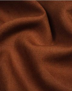 A medium weight pure linen fabric in a rich, spicy brown shade. Brown Shades, Lining Fabric, Fabric Swatches, Cotton Linen, Summer Outfits, Spices, Style Inspiration, Pure Products, Creative