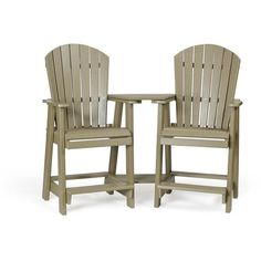 Amish Outdoor Furniture Poly Wood Balcony Settee ($800) ❤ liked on Polyvore featuring home, outdoors, patio furniture, outdoor sofa, outdoor patio furniture, amish patio furniture, wooden garden furniture and outdoor furniture