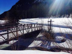 ski to the bridge, cross country Vail Mountain, Mountain Style, Cross Country, Skiing, Bridge, Mountains, Nature, Travel, Ski
