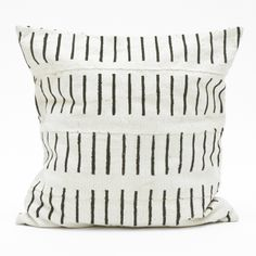 Fine Little Day - Lines pillow case  Swedish design meets African crafts...
