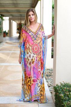 Hey, I found this really awesome Etsy listing at https://www.etsy.com/listing/243327899/kaftan-dress-embellished-100habotai-silk