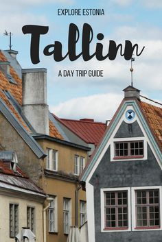 Tallinn, Estonia is one of the most popular travel destinations from Helsinki, Finland. Catch a ferry and go to Estonia for a day trip! This Baltic country will blow your mind with it's culture, food and history!