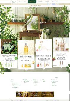 ignis season #webdesign #beauty #design