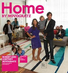 """Home by Novogratz"", by Robert and Courtney Novogratz. The husband-and-wife design team share their signature ""vintage modern"" design techniques while reviewing some of their most innovative past projects. A must-read for fans of their HGTV show of the same name. Click the cover to place a hold!"