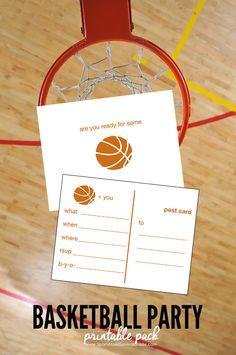 Gear Guides How Tos Healthy Recipes Printable InvitationsInvitesBirthday InvitationsParty PrintablesFree BasketballBasketball