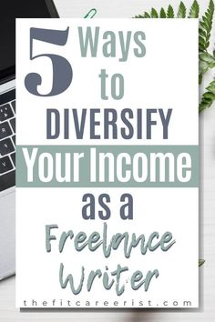 Whether you're a freelance writer with no experience or a seasoned pro, diversifying your income streams is never a bad idea! Here are 5 hacks for making more money online while putting your wordsmithing skills to good use! // The Fit Careerist -- Writing Jobs, Writing Advice, Writing Programs, Fiction Writing, Writing Ideas, Start A Business From Home, Work From Home Jobs, Make More Money, Make Money Online