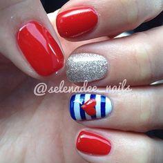 Cute nails by @selenadee_nails