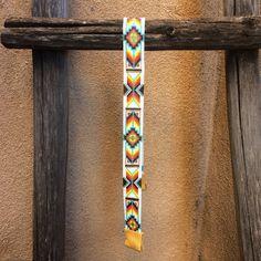 Alameda vaquero Hatband grano telar vaquera joyería artesanal