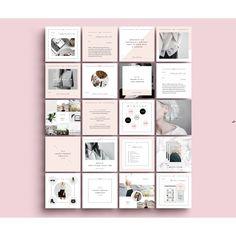 photoshop feminine modern social media pack | Jenn…