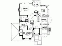 Remodel plans room and bathroom ideas remodel house plans dining table gourmet kitchen house plans free Small Kitchen Floor Plans, Best Flooring For Kitchen, Mediterranean Design, Layout, Attic Storage, Floor Design, Cool Kitchens, Planer, Kitchen Design