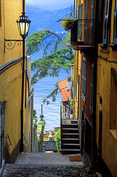 Varenna, Italy…lovely colours, shapes…a superb layout like it's designed (by a deity)