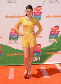 Actress Kira Kosarin attends Nickelodeon Kids' Choice Sports Awards 2014