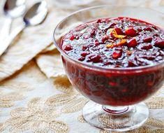 Pomegranate Cranberry Sauce
