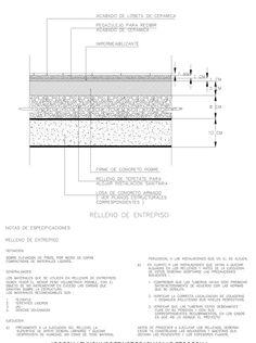Detalle de losa de concreto armado de entrepiso