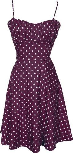 50's Retro Rockabilly Polkadot Dress Sundress - List price: $49.99 Price: $44.99
