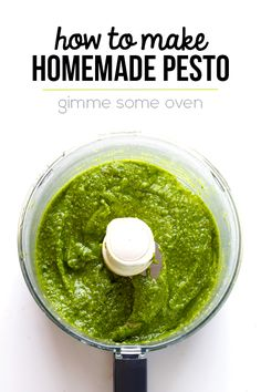 How To: Make Pesto