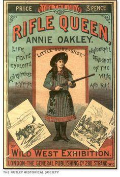Rifle Queen Annie Oakley  http://www.pbs.org/wgbh/americanexperience/films/oakley/