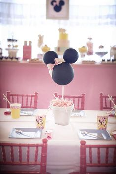 Goodnight Minnie Mouse Party Planning Ideas Supplies Idea Cake Decor