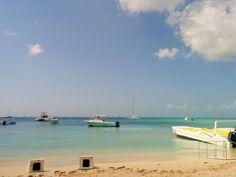 A beautiful February day in the Bayahibe Marina