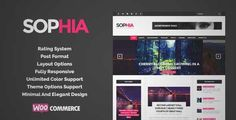 Download and review of Sofia - An Elegant Magazine WordPress Theme, one of the best Themeforest Magazine & Blogs themes {Download & review at|Review and download at} {|-> }http://best-wordpress-theme.net/sofia-an-elegant-magazine-download-review/