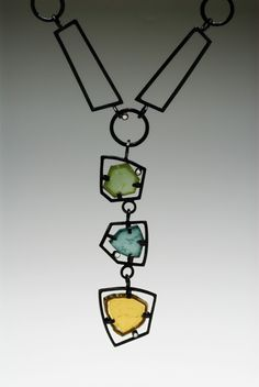 Daphne Krinos -Necklace with tourmalines