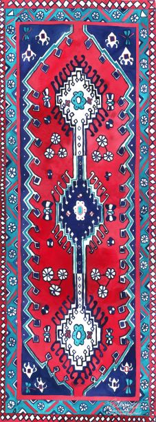 Traditional Magic Carpet Yoga Mat:  Phthalate-free PVC mat with sustainable UV-cured inks.  $85.00
