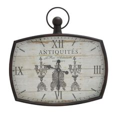 Kin-Kin Artistic Wall Clock Decor