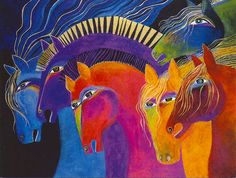 City Girl Gone Ranch Mama: Painting Horses