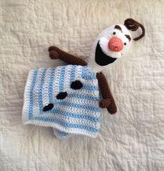 Olaf inspired Lovey/ Security Blanket/ Plush by mamamegsyarnshoppe, $30.00