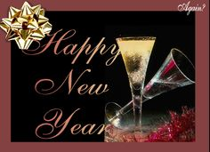 free new year ecards with wine