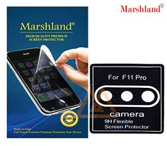 MARSHLAND Rainbow Effect Back Screen Protector Bubble Free Flexible Anti Scratch Back Screen Guard Compatible for Oneplus 7 Flexible Screen, Screen Guard, Camera Lens, Screen Protector, Flexibility, Bubbles, Samsung Galaxy, Smooth, Amazon