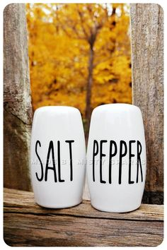 Check out this item in my Etsy shop https://www.etsy.com/listing/569496015/modern-white-and-black-salt-and-pepper
