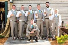 Rustic Groomsmen at the Rocking L Ranch, Cocoa, Florida