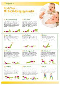 #Rückbildungsgymnastik - ein Muss nach der #Geburt und #Schwangerschaft