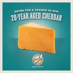 20 Curds of Cheese Knowledge + Win a Wisconsin Cheddar Cheese Flight with 20-Year Aged Cheddar