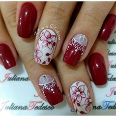 Cute Short Nails Design Ideas For Spring & Summer (Square, Round & Oval Nails) Short Nail Designs, Nail Art Designs, Nails Design, Fancy Nails, Trendy Nails, Cute Short Nails, Floral Nail Art, Long Acrylic Nails, Oval Nails